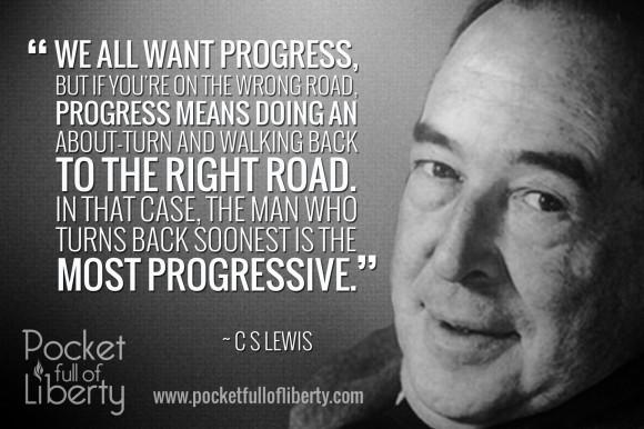 CSLewisProgress