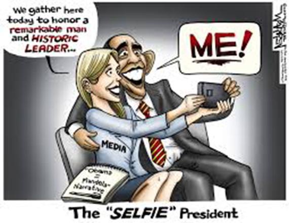 President Selfie