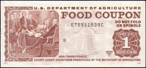 food stamp actual